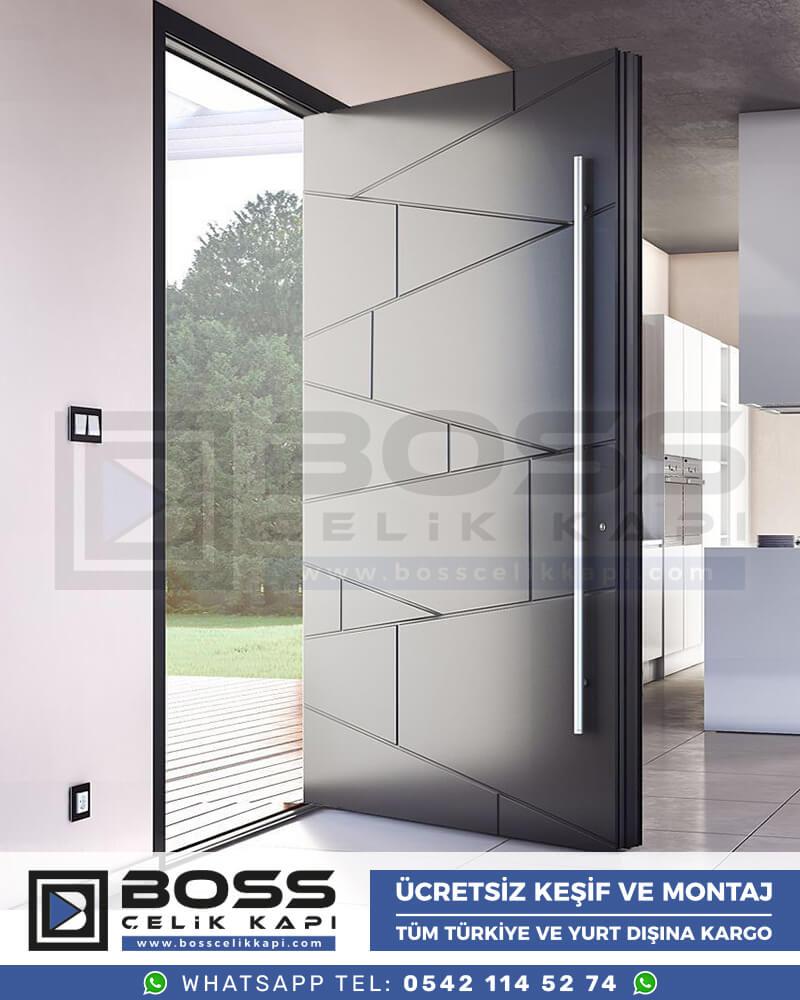 Boss Çelik Kapı Kompozit Villa Kapısı Modelleri İndirimli Villa Kapısı Fiyatları Villa Giriş Kapısı 1