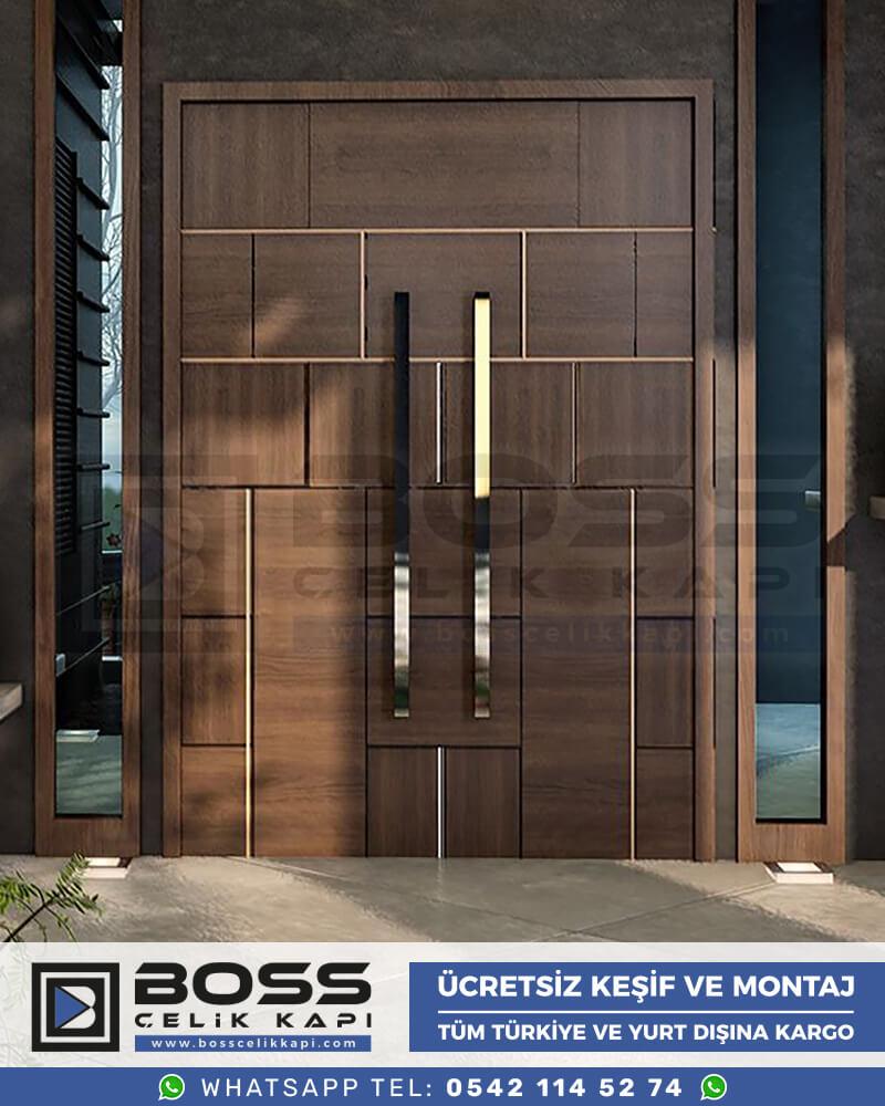 Boss Çelik Kapı Kompozit Villa Kapısı Modelleri İndirimli Villa Kapısı Fiyatları Villa Giriş Kapısı 2