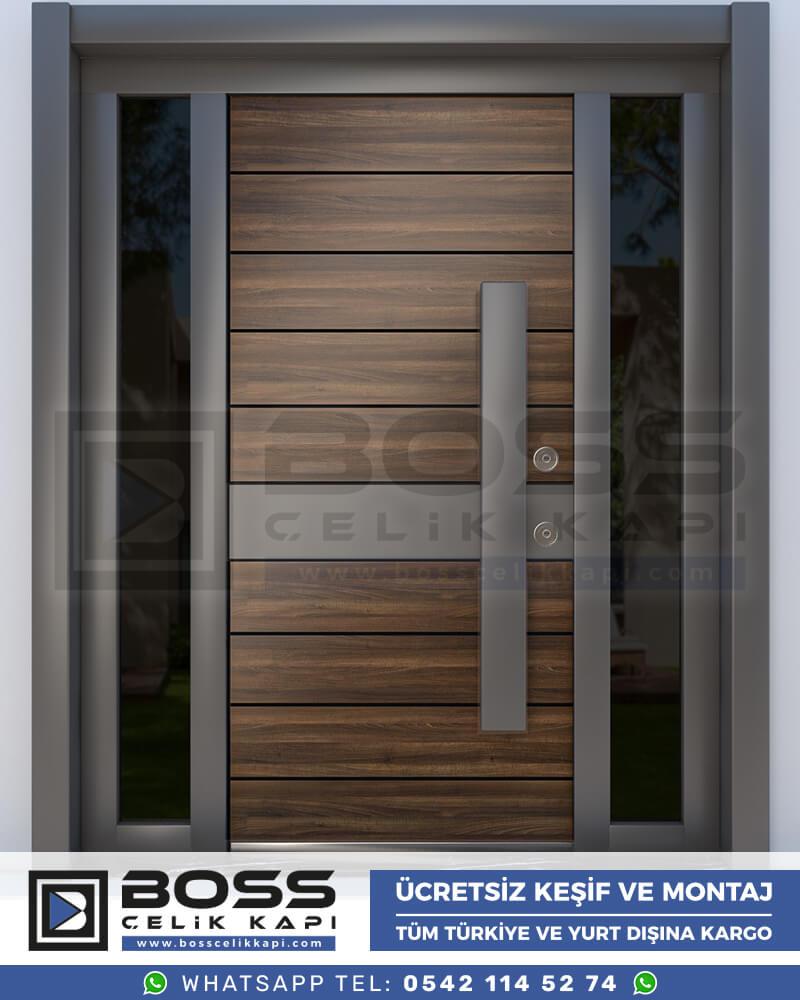 Boss Çelik Kapı Kompozit Villa Kapısı Modelleri İndirimli Villa Kapısı Fiyatları Villa Giriş Kapısı 22