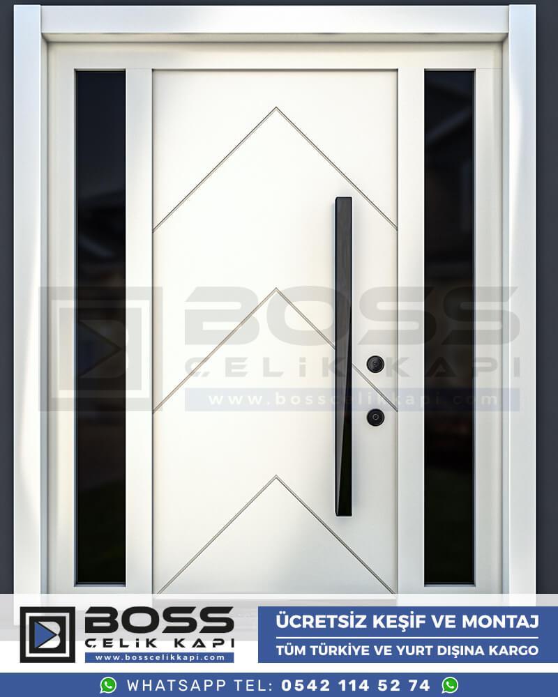 Boss Çelik Kapı Kompozit Villa Kapısı Modelleri İndirimli Villa Kapısı Fiyatları Villa Giriş Kapısı 25