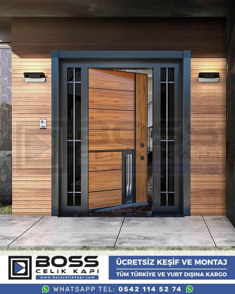 Boss Çelik Kapı Kompozit Villa Kapısı Modelleri İndirimli Villa Kapısı Fiyatları Villa Giriş Kapısı 26