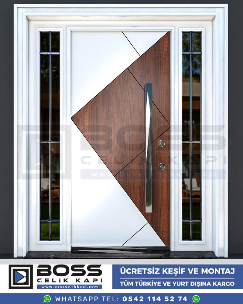 Boss Çelik Kapı Kompozit Villa Kapısı Modelleri İndirimli Villa Kapısı Fiyatları Villa Giriş Kapısı 28