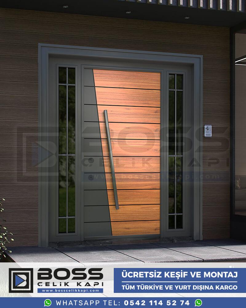 Boss Çelik Kapı Kompozit Villa Kapısı Modelleri İndirimli Villa Kapısı Fiyatları Villa Giriş Kapısı 29