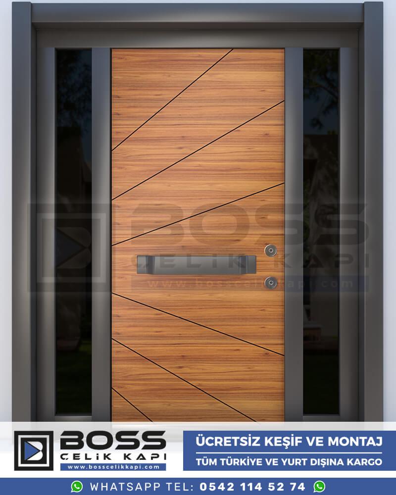 Boss Çelik Kapı Kompozit Villa Kapısı Modelleri İndirimli Villa Kapısı Fiyatları Villa Giriş Kapısı 30