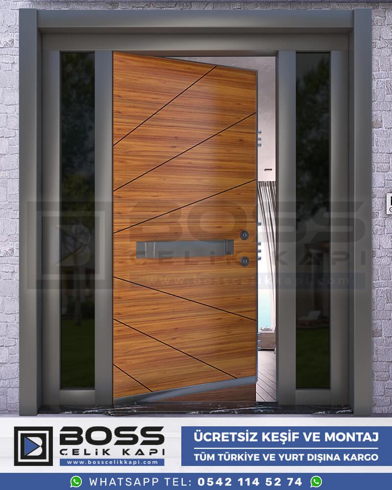 Boss Çelik Kapı Kompozit Villa Kapısı Modelleri İndirimli Villa Kapısı Fiyatları Villa Giriş Kapısı 31