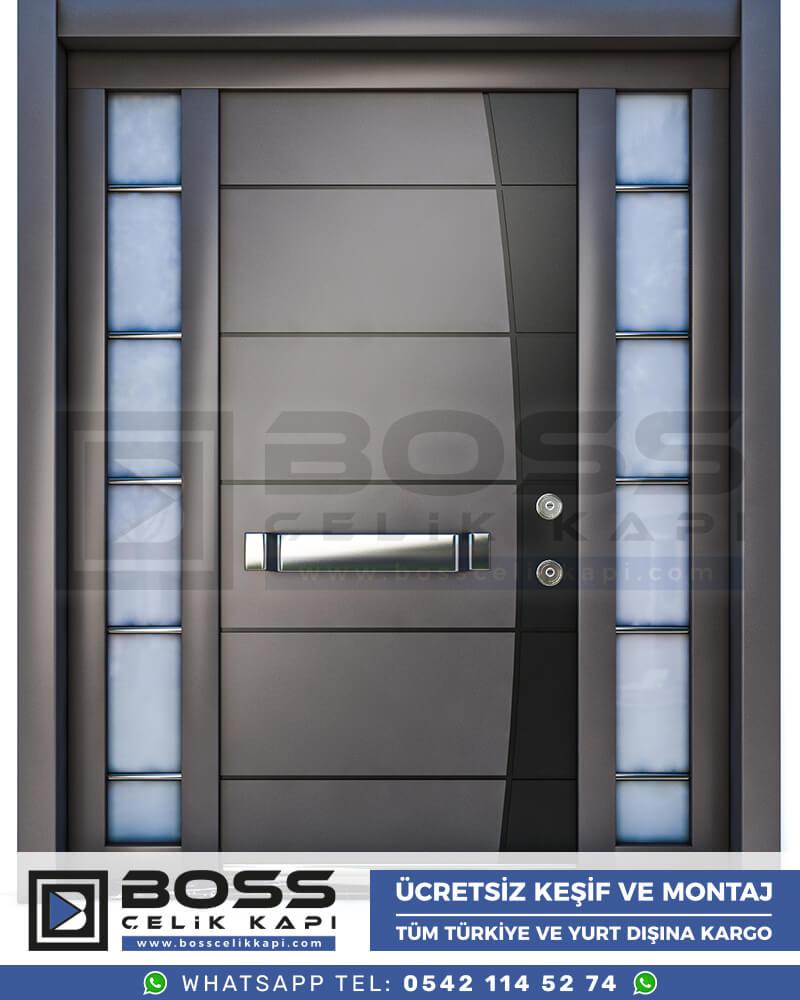 Boss Çelik Kapı Kompozit Villa Kapısı Modelleri İndirimli Villa Kapısı Fiyatları Villa Giriş Kapısı 32