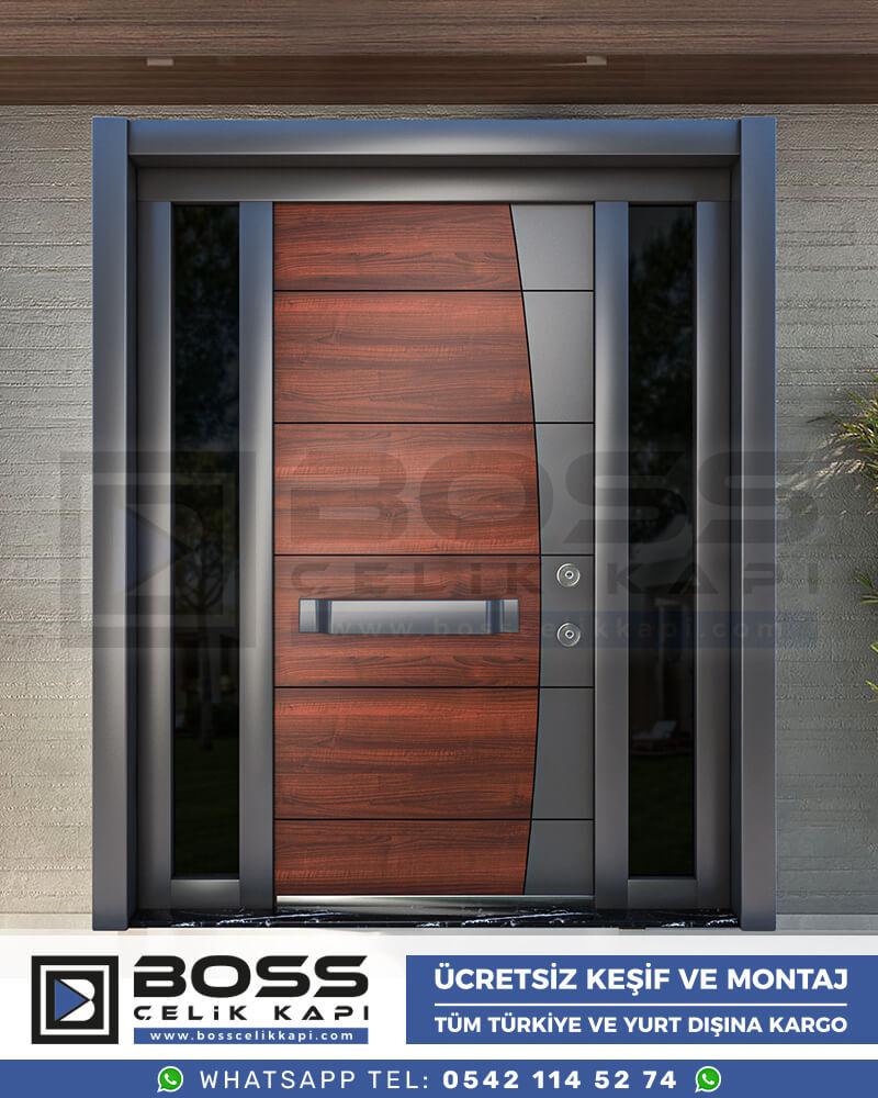 Boss Çelik Kapı Kompozit Villa Kapısı Modelleri İndirimli Villa Kapısı Fiyatları Villa Giriş Kapısı 33