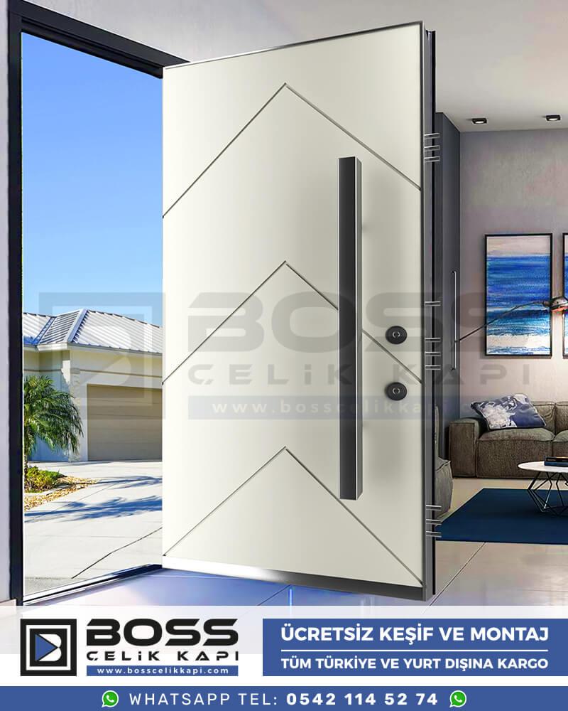 Boss Çelik Kapı Kompozit Villa Kapısı Modelleri İndirimli Villa Kapısı Fiyatları Villa Giriş Kapısı 39