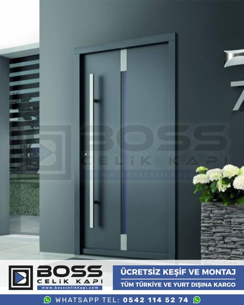 Boss Çelik Kapı Kompozit Villa Kapısı Modelleri İndirimli Villa Kapısı Fiyatları Villa Giriş Kapısı 4