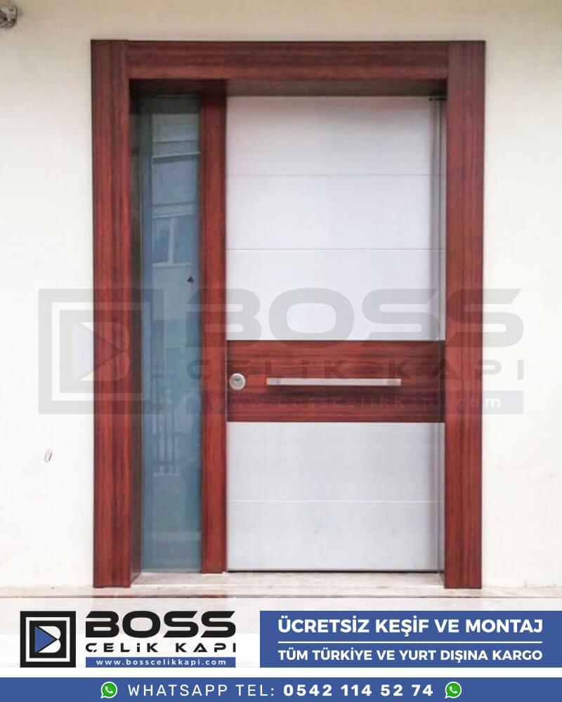 Boss Çelik Kapı Kompozit Villa Kapısı Modelleri İndirimli Villa Kapısı Fiyatları Villa Giriş Kapısı 5