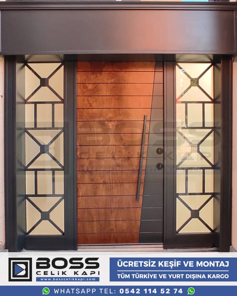 Boss Çelik Kapı Kompozit Villa Kapısı Modelleri İndirimli Villa Kapısı Fiyatları Villa Giriş Kapısı 53
