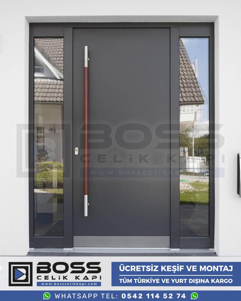 Boss Çelik Kapı Kompozit Villa Kapısı Modelleri İndirimli Villa Kapısı Fiyatları Villa Giriş Kapısı 7