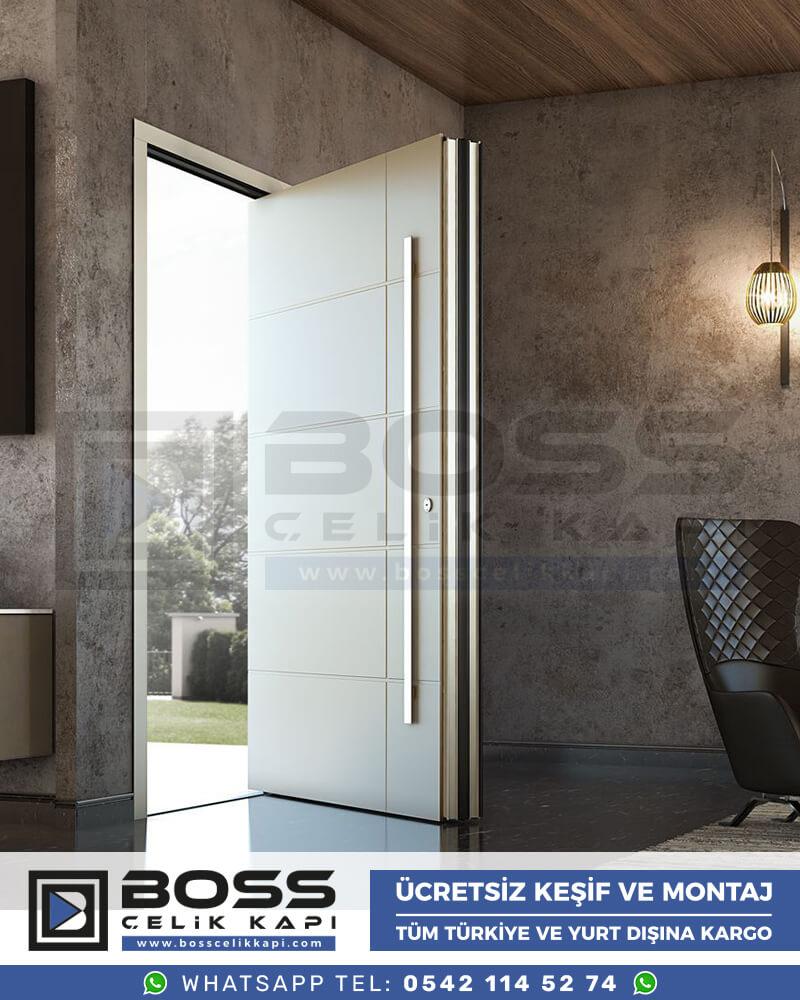 Boss Çelik Kapı Kompozit Villa Kapısı Modelleri İndirimli Villa Kapısı Fiyatları Villa Giriş Kapısı 8