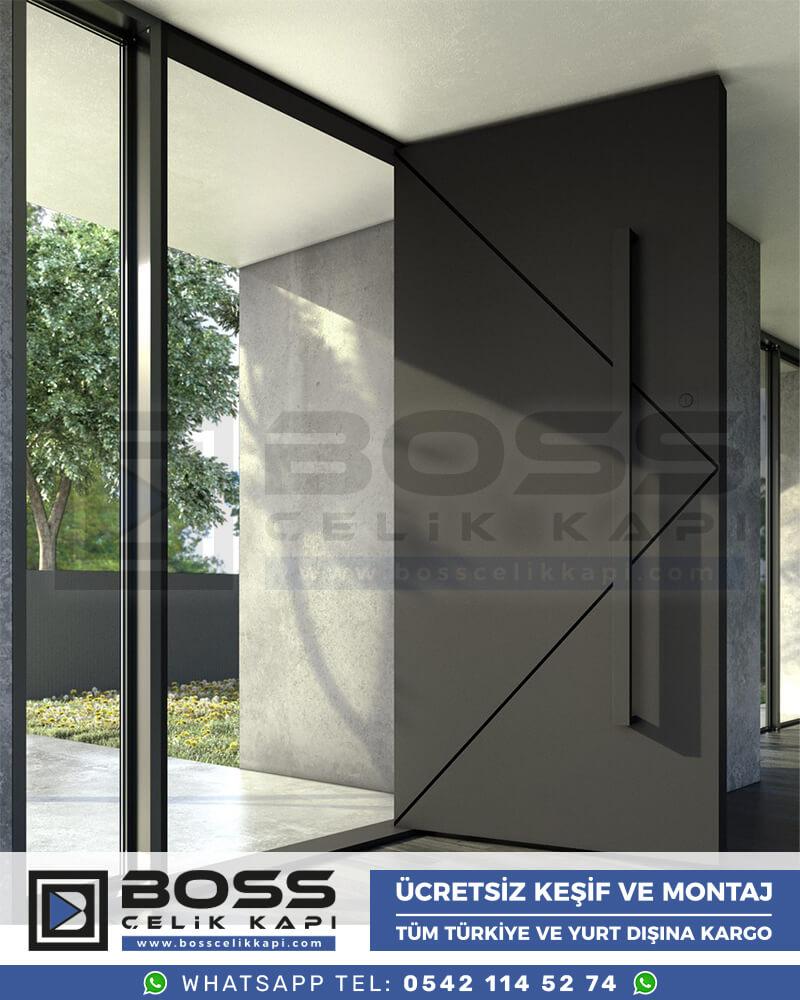 Kompozit Villa Kapısı Modelleri Boss Çelik Kapı Villa Giriş Kapısı Modern