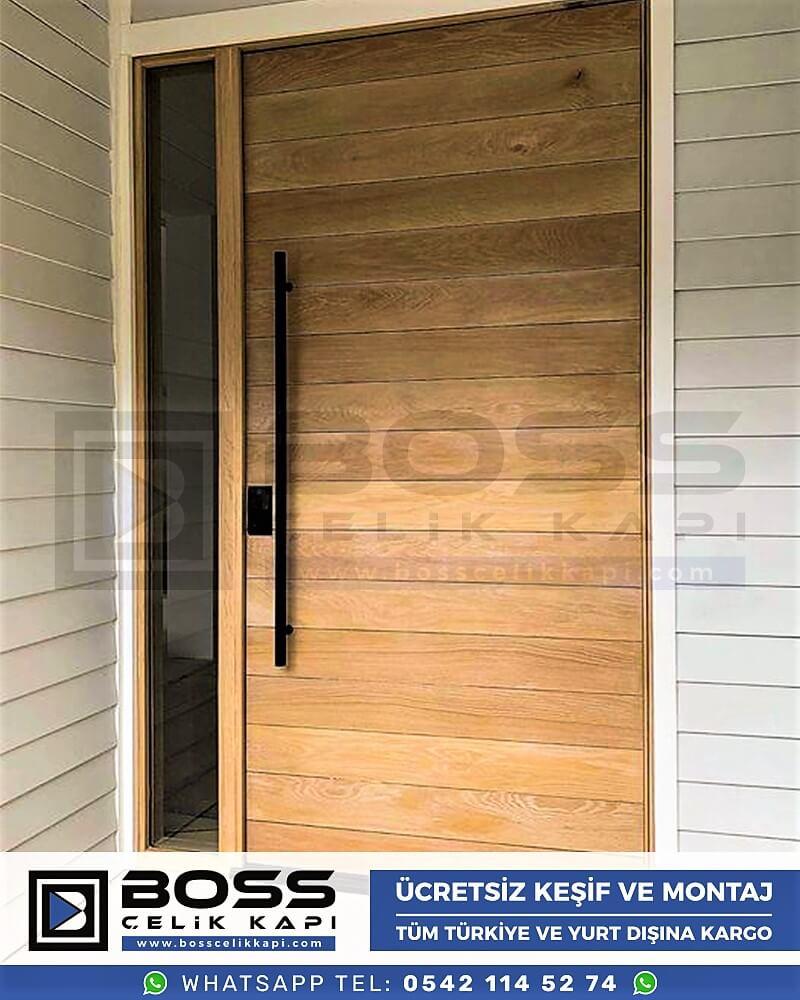 Villa Kapısı Çelik Kapı İndirimli Villa Kapsı Modelleri istanbul villa giriş kapısı fiyatları boss çelik kapı 1