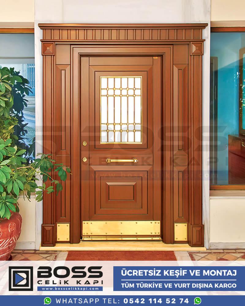 Villa Kapısı Çelik Kapı İndirimli Villa Kapsı Modelleri istanbul villa giriş kapısı fiyatları boss çelik kapı 2