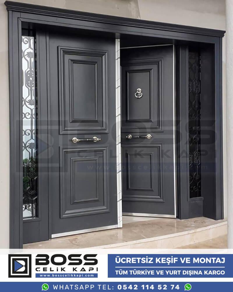 Villa Kapısı İndirimli Villa Kapsı Modelleri istanbul villa giriş kapısı fiyatları boss çelik kapı 42