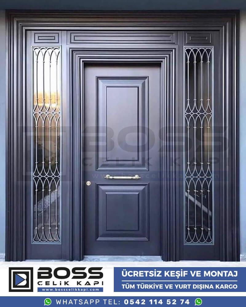 Villa Kapısı İndirimli Villa Kapsı Modelleri istanbul villa giriş kapısı fiyatları boss çelik kapı 48