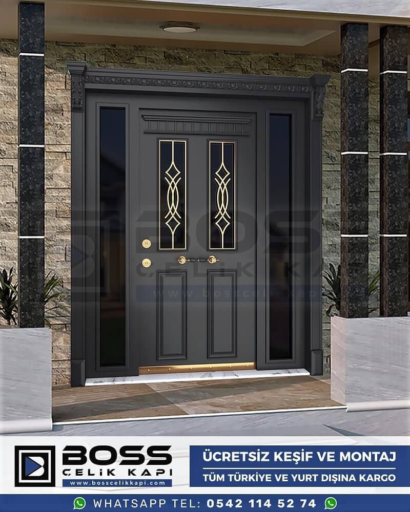 Villa Kapısı İndirimli Villa Kapsı Modelleri istanbul villa giriş kapısı fiyatları boss çelik kapı 54