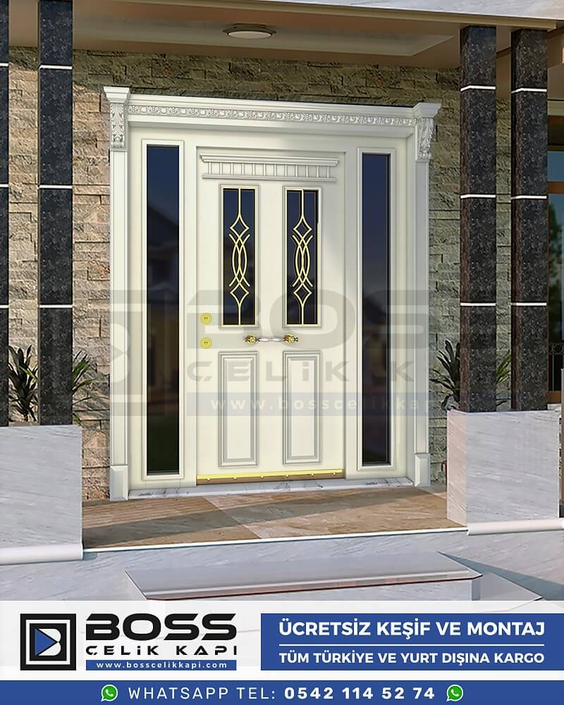 Villa Kapısı İndirimli Villa Kapsı Modelleri istanbul villa giriş kapısı fiyatları boss çelik kapı 55